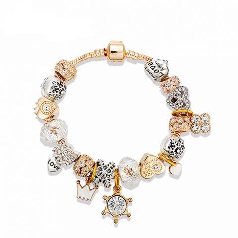 Gold_White_Charm_Bracelet