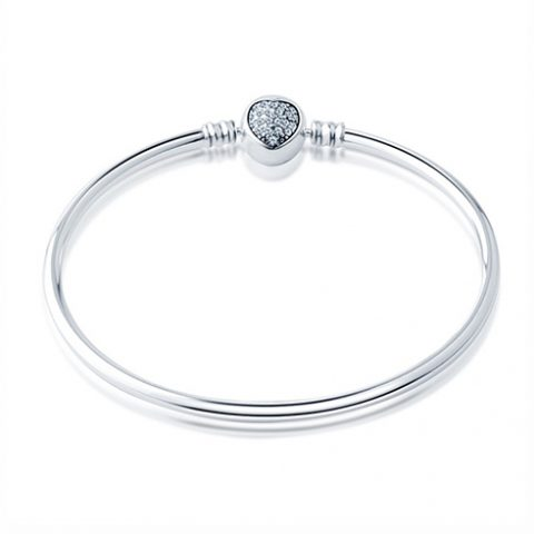White_Crystal_Hear_Bangle_Bracet