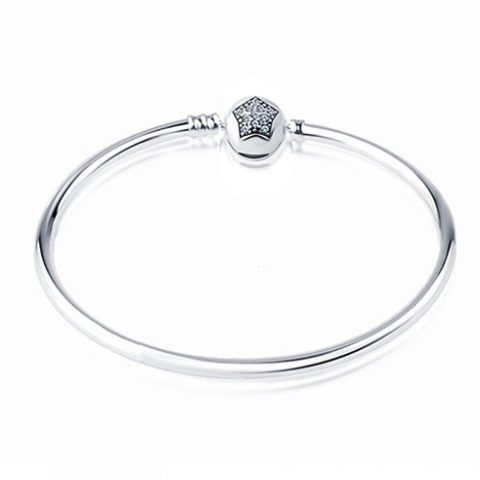White_Crystal_Star_Bangle_Bracet