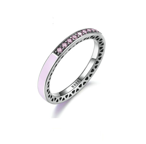 Silver_Pink_Crystals_Ring
